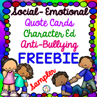 FREEBIE, Social Emotional, Character Education, Anti-Bullying