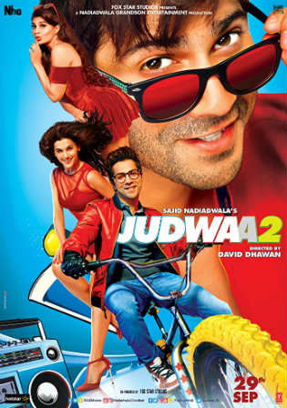 Judwaa 2 2017 BluRay 400Mb Full Hindi Movie Download 480p Watch Online Free bolly4u