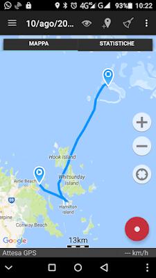 mappa Whitsundays Australia