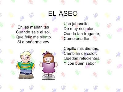 Salud e Higiene Kids: Poesía- El Aseo