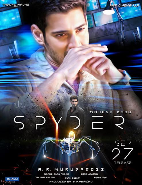 Spyder (2017) Tamil Movie Full HDRip 720p DVDScr BluRay