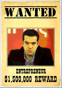 Tsipras - wanted