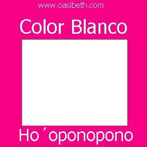 HO´OPONOPONO : COLOR BLANCO