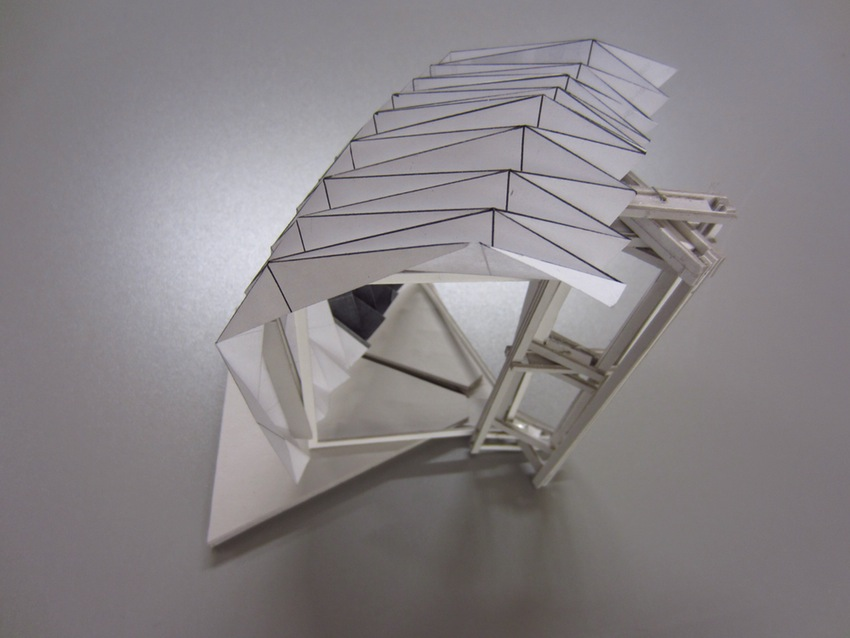Origami Architecture Moving Origami