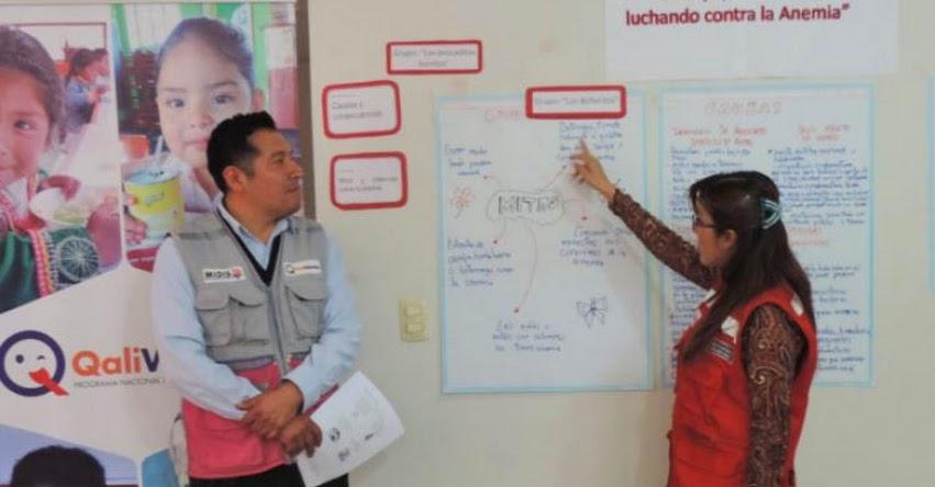 QALI WARMA: Programa social capacita a Monitores de Gestión Local en Moquegua sobre alimentación saludable para prevenir anemia - www.qaliwarma.gob.pe