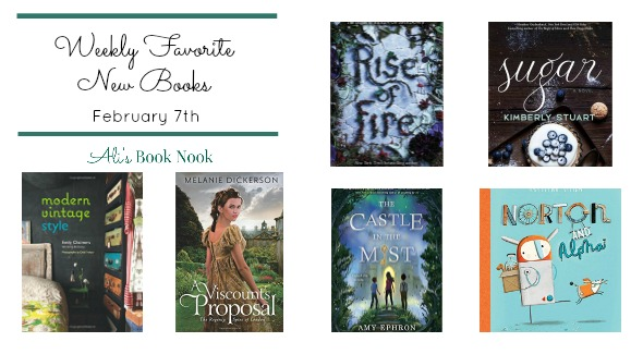 Favorite New Books for all ages published Feb 7th