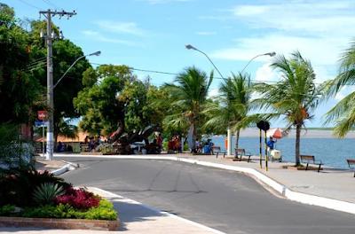 Encontro das águas em Santarém