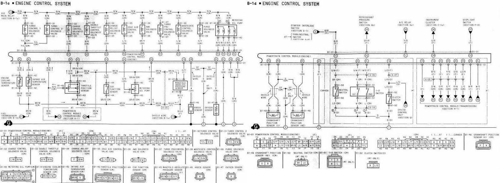 2011 All About Wiring Diagrams 1993 Mazda Rx 7 Schematic 1994 Engine Control System Complete Diagram