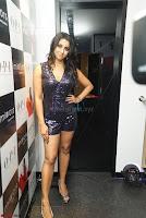 Sanjana looks happy in sparkling short Deep neck Purple Gown ~  Exclusive 11.JPG