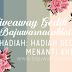Giveaway Paling Gedik by Raihanah