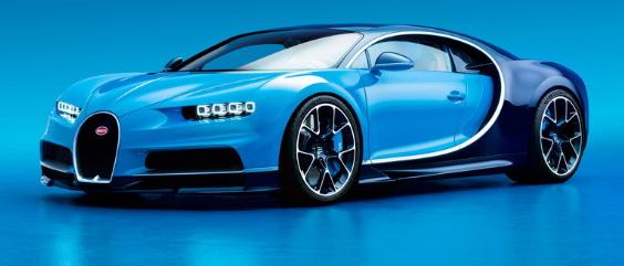 2018 Bugatti Chiron Exterior