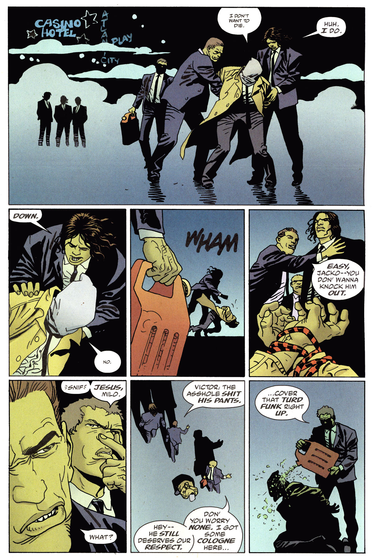Read online 100 Bullets comic -  Issue #79 - 10