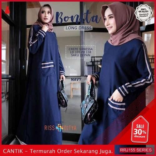 Jual RRJ155D167 Dress Bonita Long Wanita Dress Sk Terbaru BMGShop