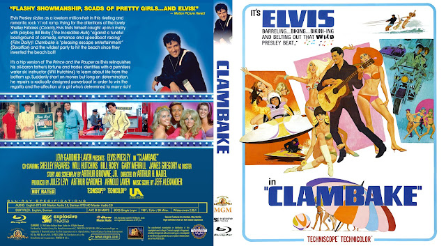 Clambake (1967) Bluray