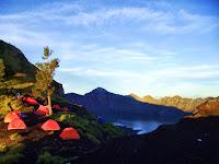 Menikmati Keindahan Alam Gunung Rinjani - Lombok