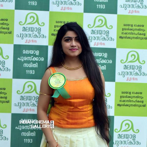 Manasa Radhakrishnan latest photos from Malayalam Puraskaaram 2017