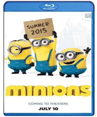 Minions 2015 Dual Audio Hindi 720p BRRip 800mb ESub