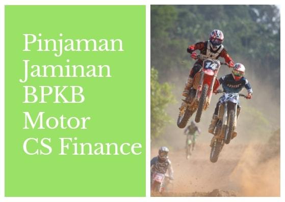 Pinjaman bpkb Motor 50 JUta