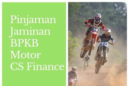Pinjaman CS Finance Jaminan BPKB Motor hingga 50 Juta - BCA