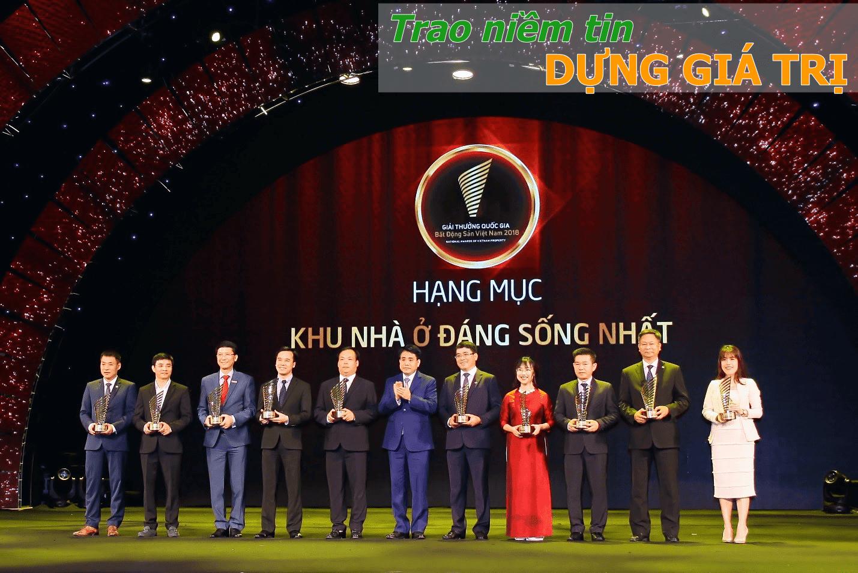 Xuân Mai Corp nhận giải thưởng bất động sản
