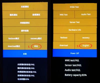 Mengubah Bahsa China Xiaomi ke Bahasa Inggris