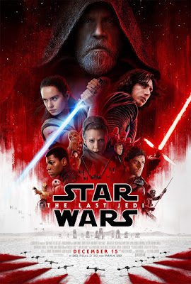 Star Wars The Last Jedi Final Theatrical One Sheet Movie Poster