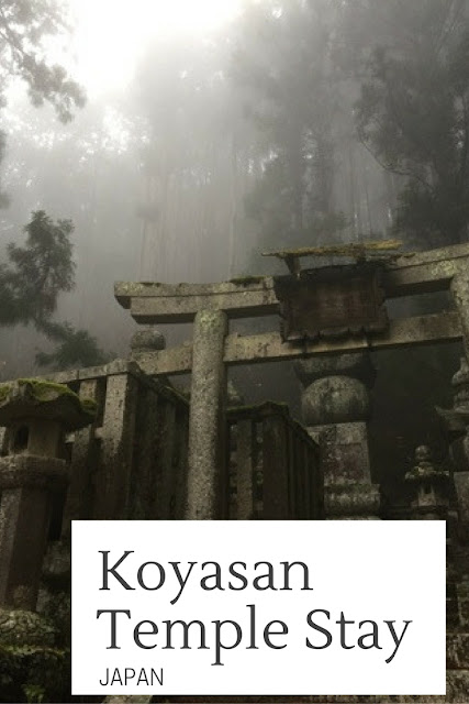 A temple stay at Koyasan in Japan is a must-do for a traditional Japanese experience. The journey up the mountain is gorgeous, and staying in a temple is an experience you won't get anywhere else!