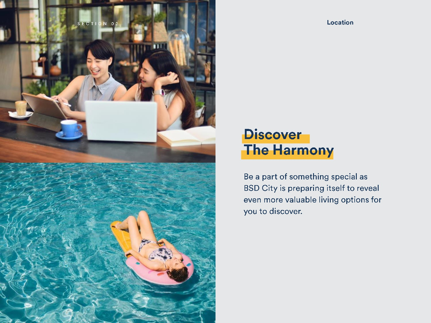 Upper West BSD City - Discover theHarmony