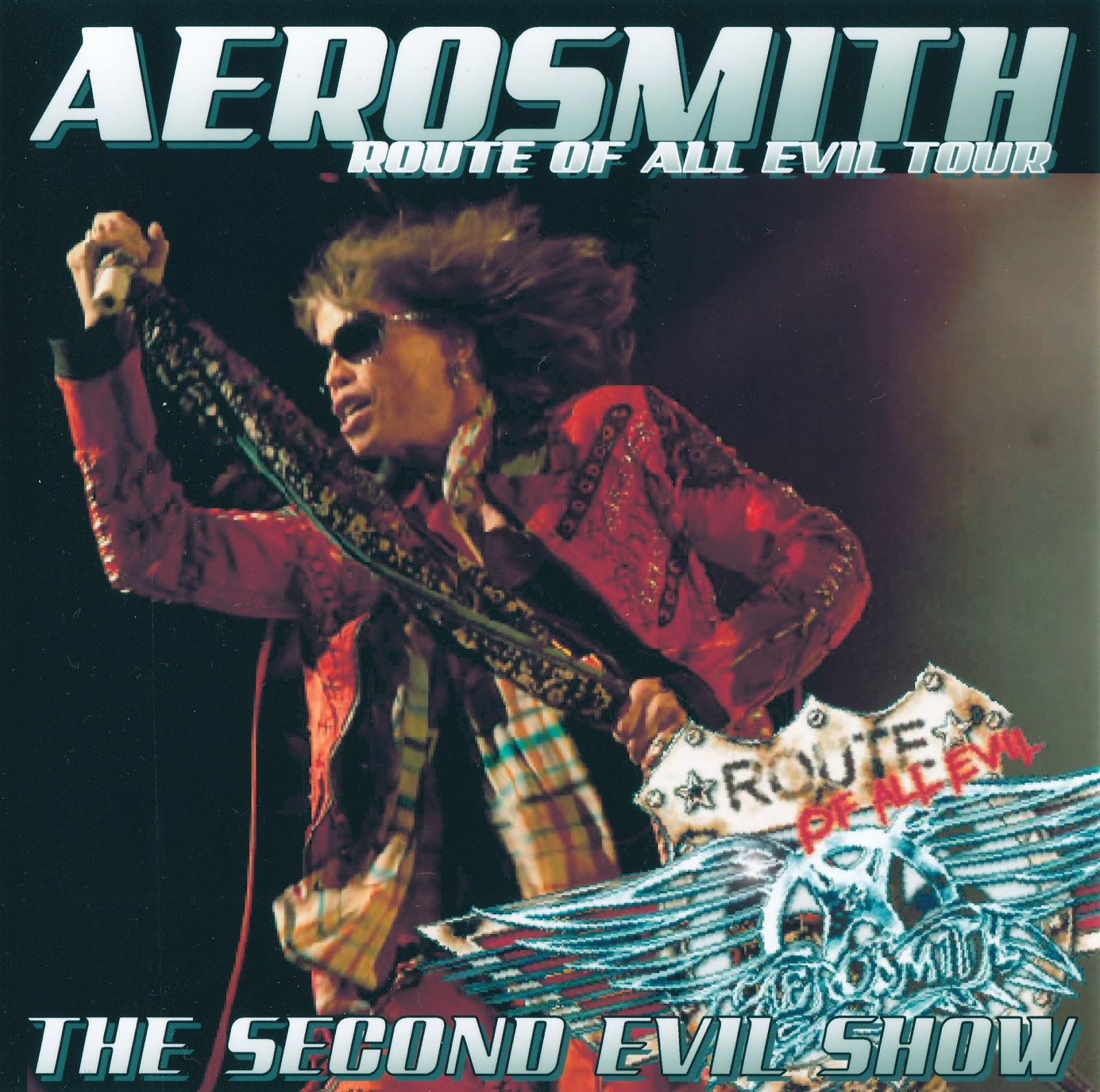 Aerosmith Bootlegs Cover Arts The Second Evil Show