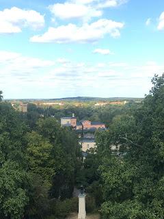 オランジュリー宮殿上からの眺め