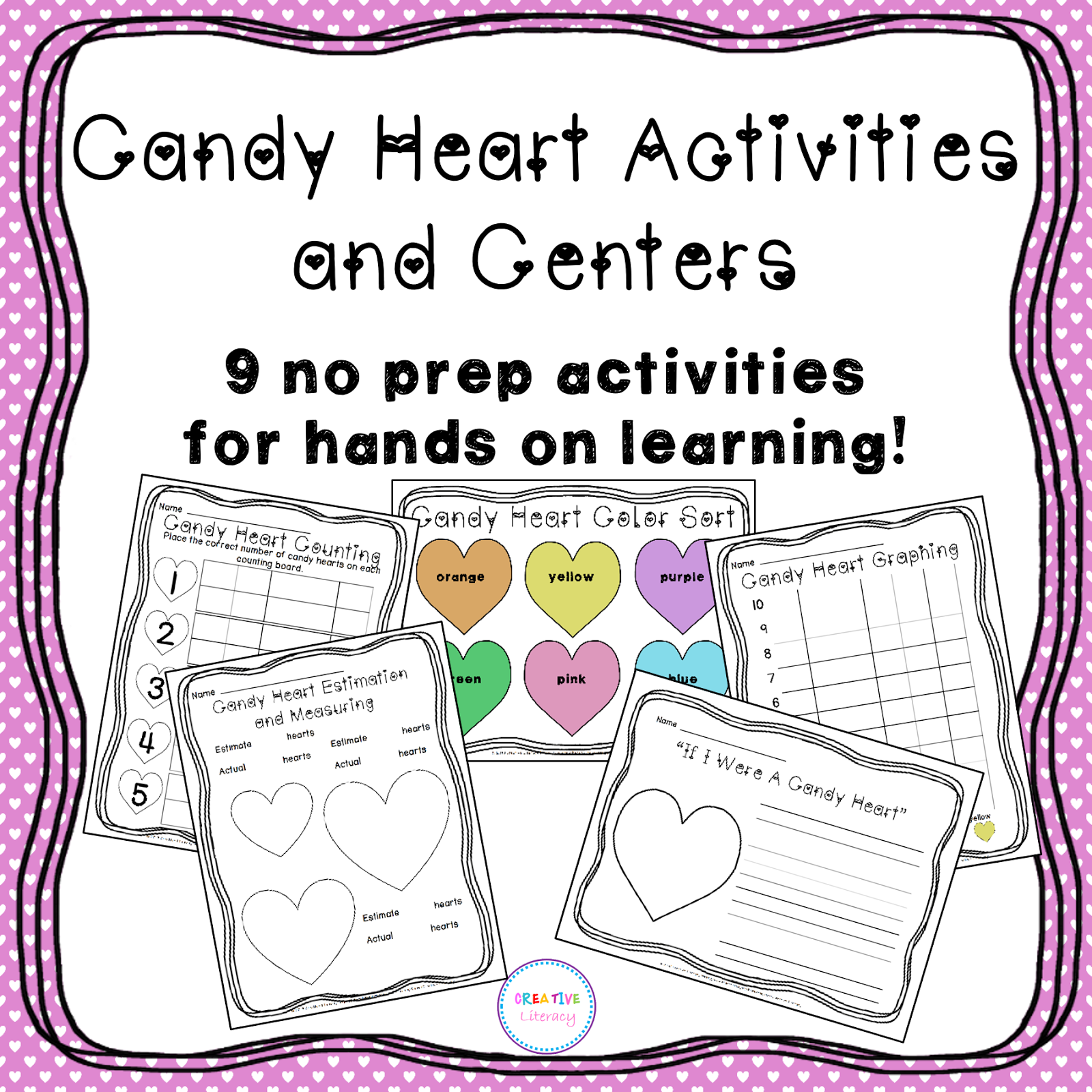 Creative Literacy Having Fun And Learning With Candy Hearts