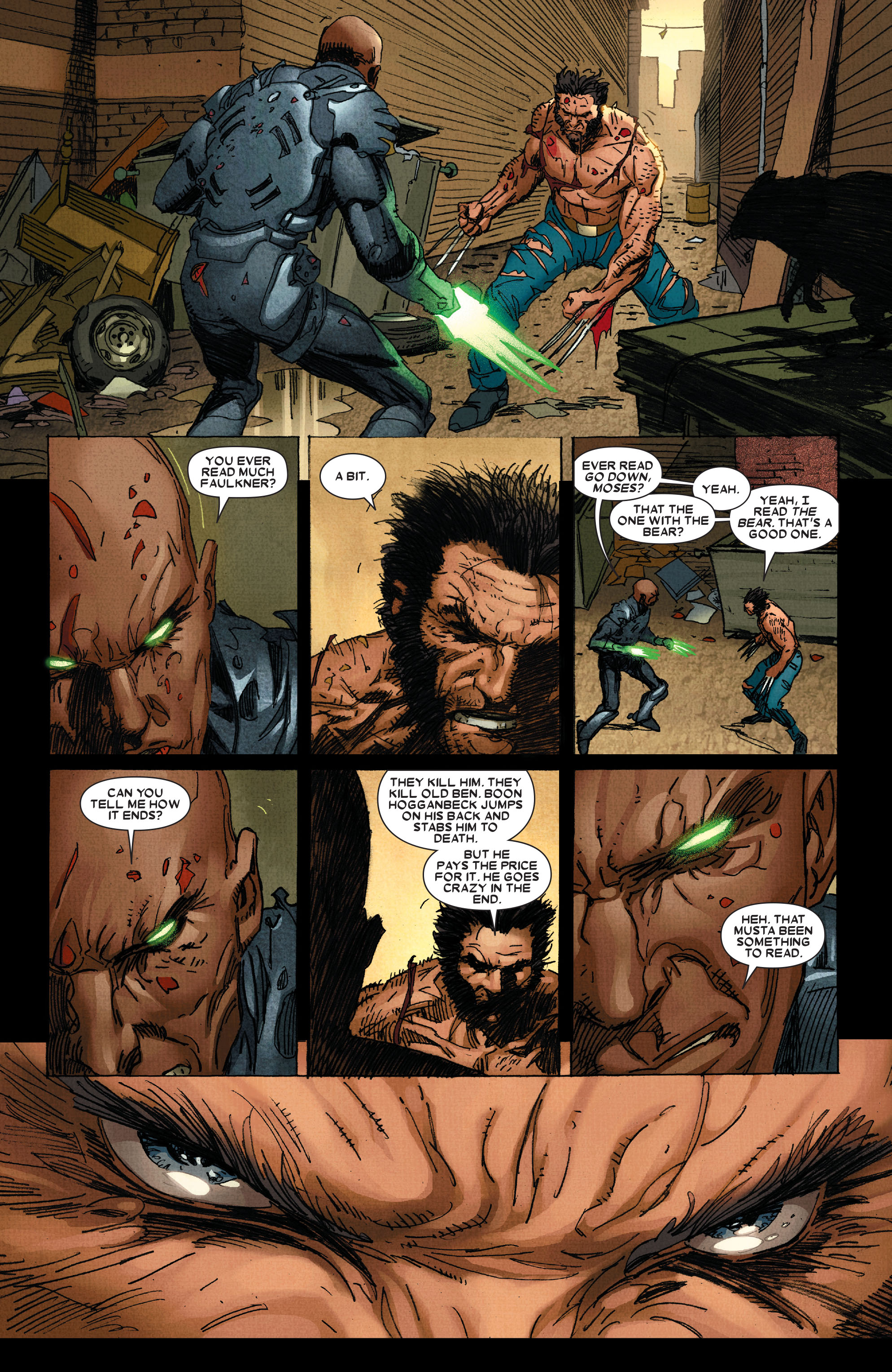 Read online Wolverine: Weapon X comic -  Issue #4 - 21