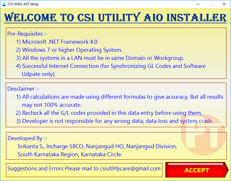 Image result for csi utility tool