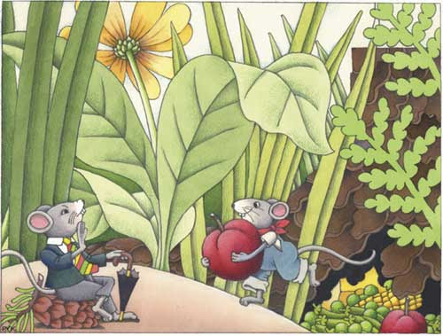 Country Mouse and Town Mouse - Short Story for Kids