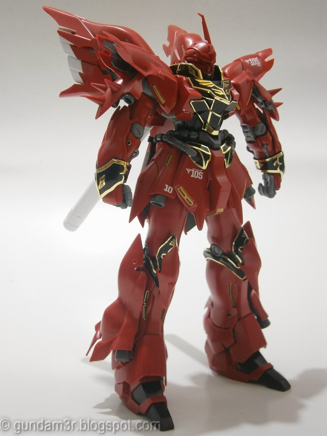 Sinanju Ver. Ka MG Review Part 1 - Gundam3R