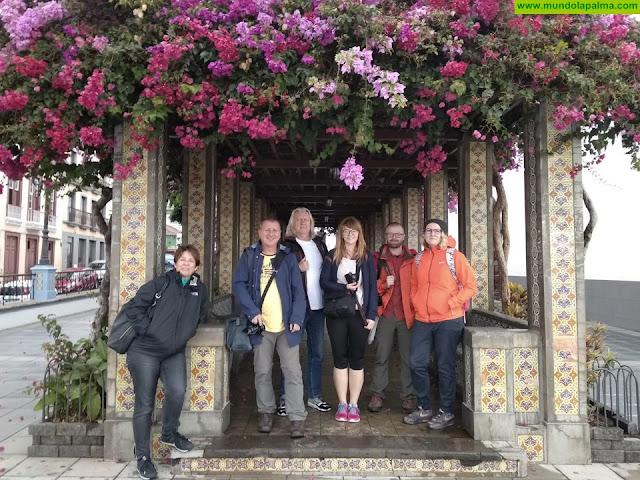 Turismo La Palma da a conocer la isla a periodistas de Polonia e Irlanda