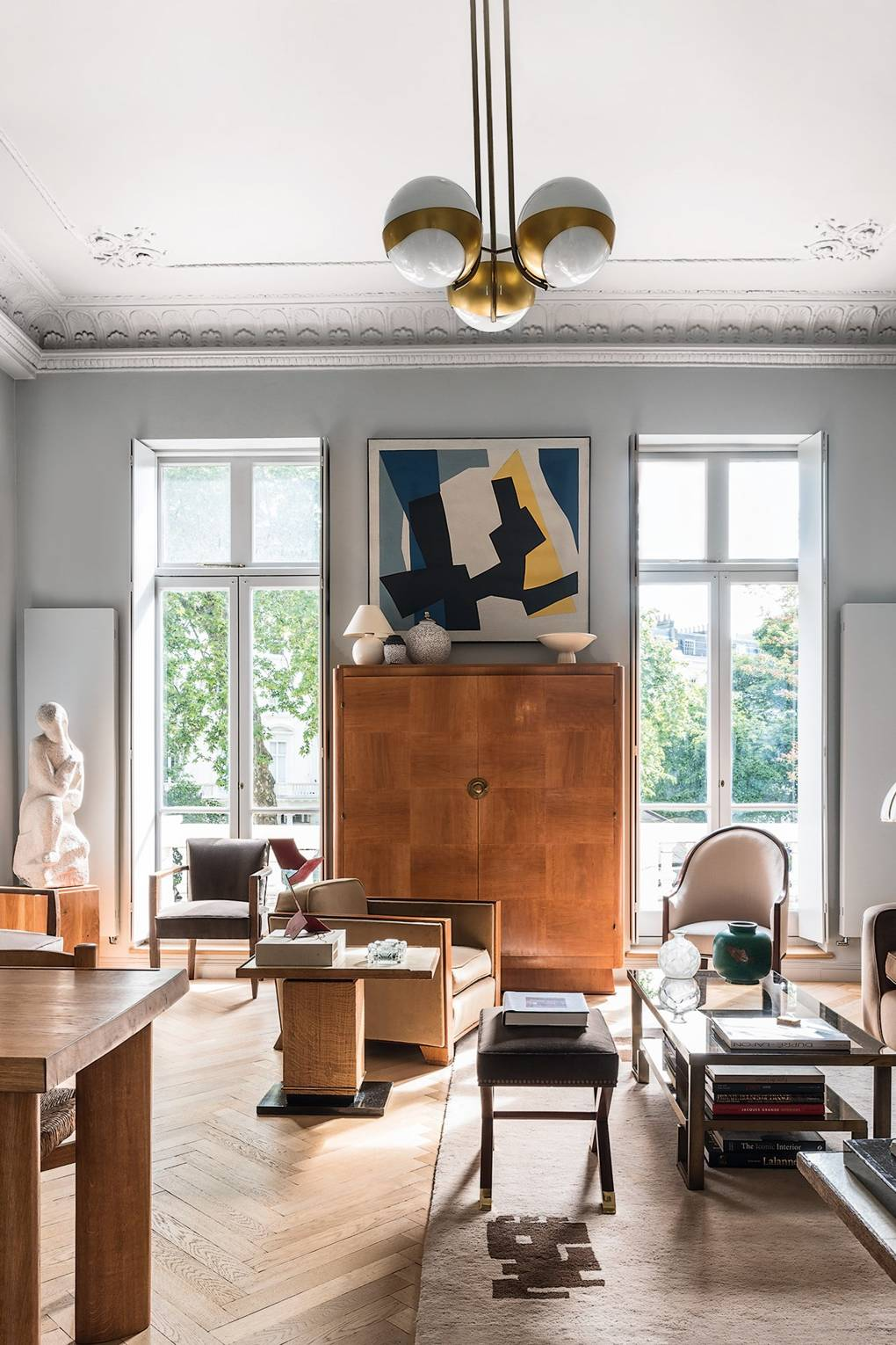 Living Room - French Art Deco Flat