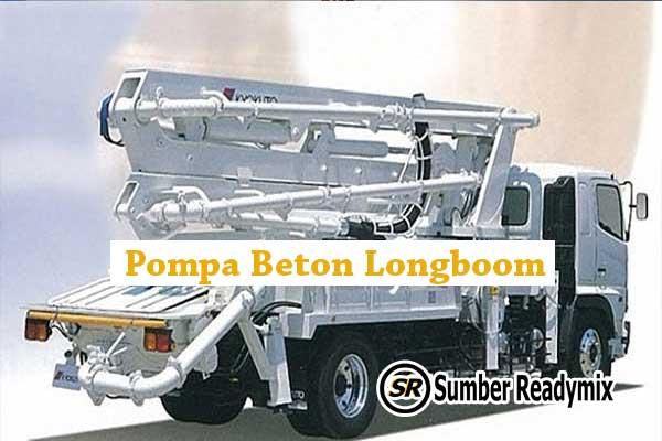 Pompa Beton Longboom Bogor