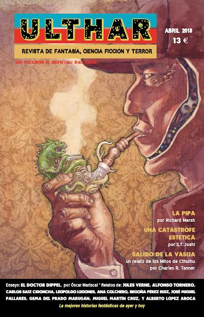 ¡NUEVO! Revista Ulthar nº04. 13 euros