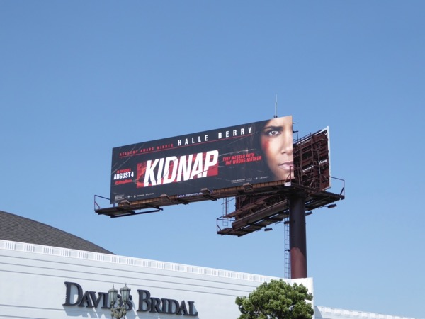 Kidnap film billboard