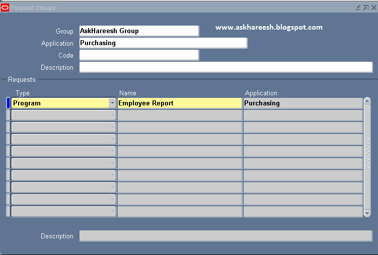 Report Registration in Oracle Apps | AskHareesh Blog on Oracle