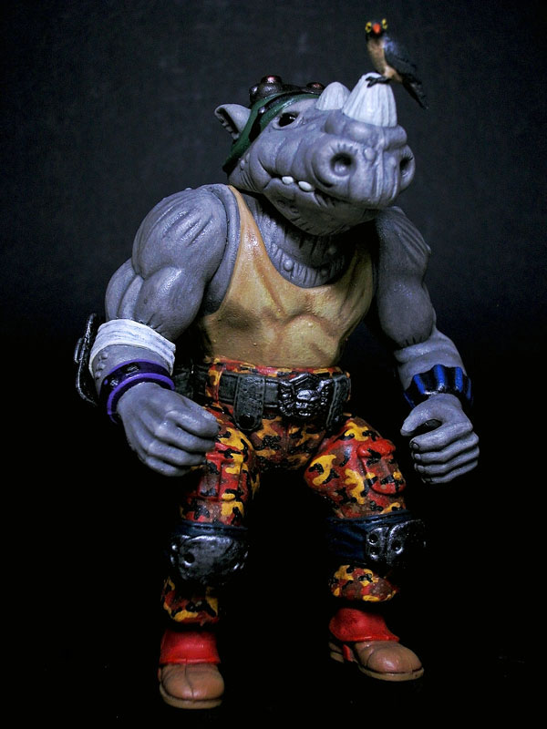 f6b544fd4 Custom-Feature: a rhino & friend by Daniel Yu (a Teenage Mutant Ninja  Turtles character modernization)