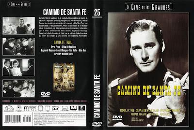 Santa Fe Trail | 1940 | Camino de Santa Fe | Dvd Cover