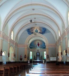 Interior da Igreja Matriz de Cotiporã