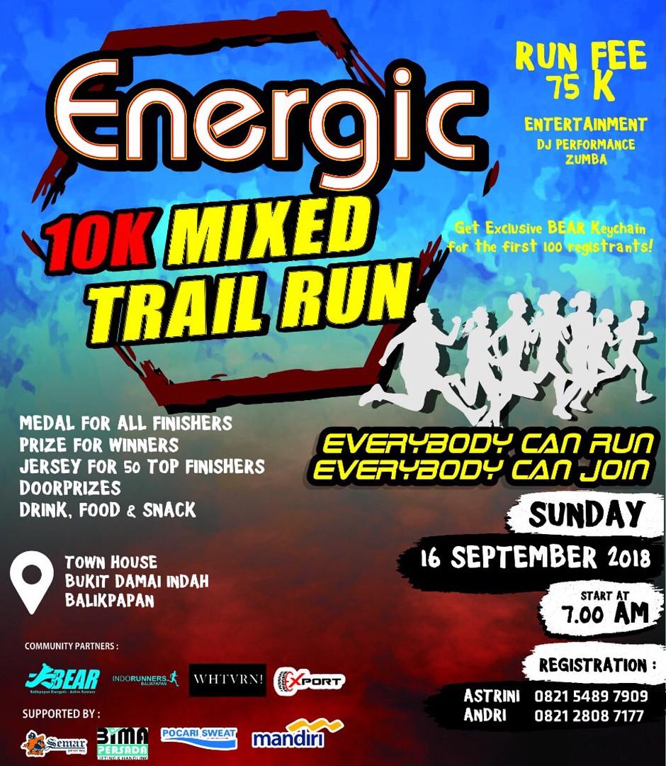 Energic 10K - Mixed Trail Run • 2018