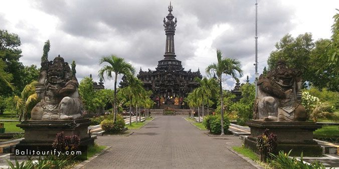 Bajra Sandhi Monument, Full Day Denpasar City and Uluwatu Temple Bali Sunset Tour