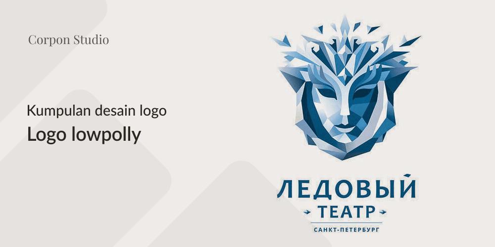 Kumpulan Desain Logo Low Poly