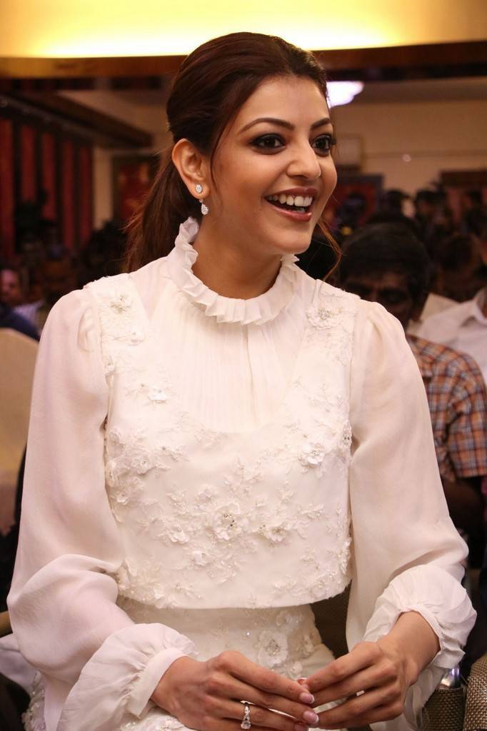 Kajal Agarwal At Paris Paris Tamil Movie Launch Event Gallery