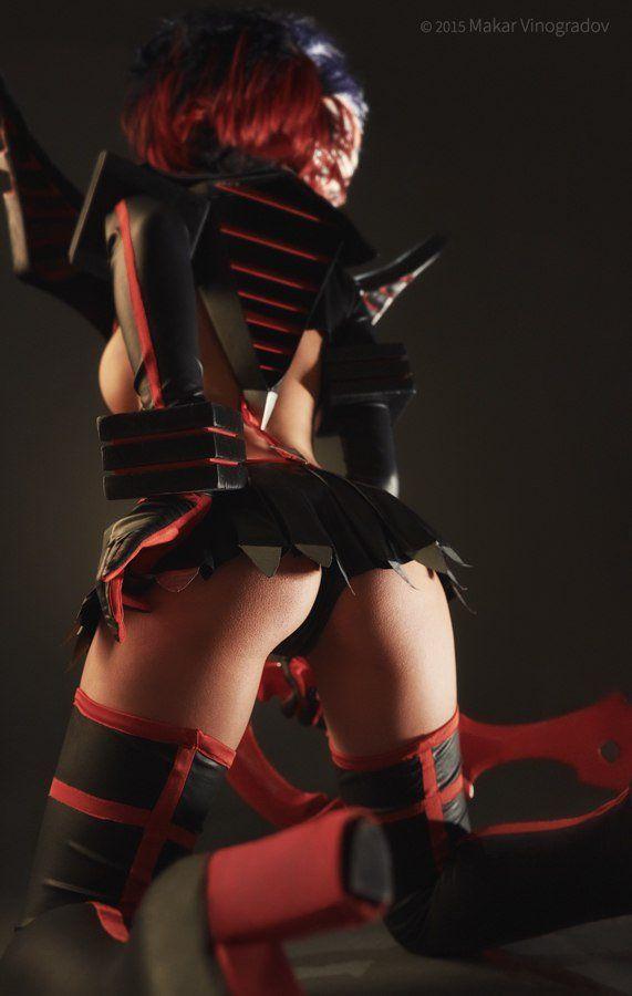 christina fink sexy ryuko matoi cosplay 05