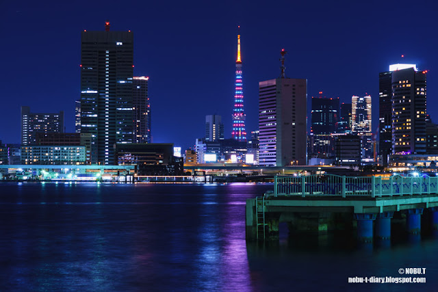 東京タワー「クリスマスツリーダイヤモンドヴェール」